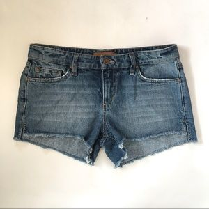 Joe's Collector's Edition Distressed Shorts NWT